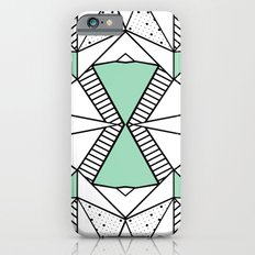 Ab Lines and Spots Mint Slim Case iPhone 6s