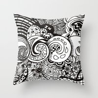 IN Throw Pillow