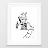 ANTI-Christ Air Framed Art Print