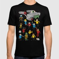 Star Trek The Reanimated… Mens Fitted Tee Black SMALL