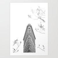 Flatiron Building NYC Art Print
