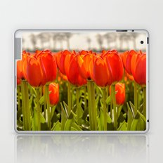 Tulips standing tall Laptop & iPad Skin