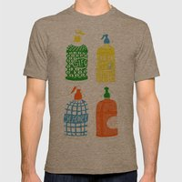 Barcelona vermouth Mens Fitted Tee Tri-Coffee SMALL