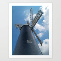 Waltham Mill Art Print