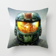 Throw Pillow featuring Halo by Joe Roberts