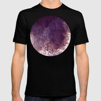 splattering, from the top Mens Fitted Tee Black SMALL