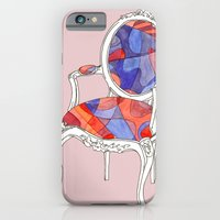 iPhone & iPod Case featuring French Chair I by Libby Brown