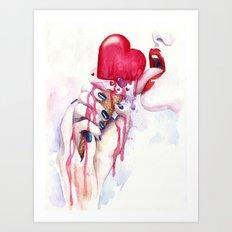 My sweetheart Art Print