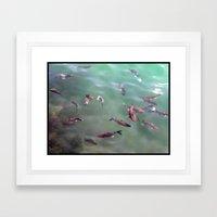 Fish! Framed Art Print