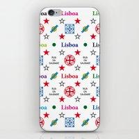 Lisboa, Portugal, Vintage Apple Laptop Skin Iphone Ipad iPhone & iPod Skin