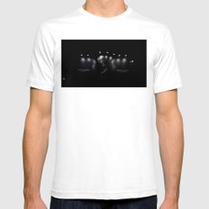 Billboard in Central at 0000 Mens Fitted Tee White SMALL