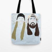 Jay and Silent Bob Strike Back Tote Bag