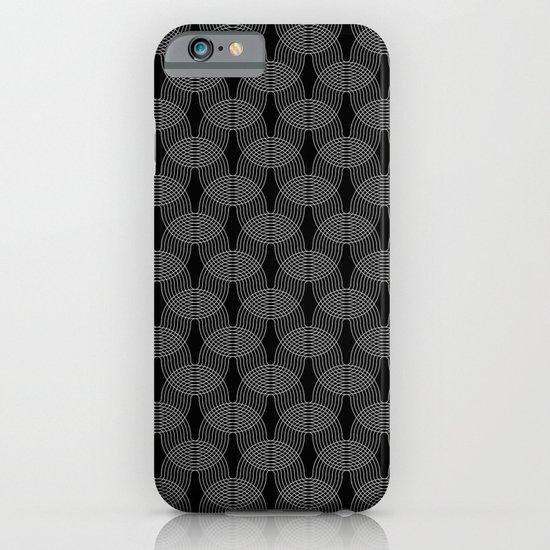 black undulation iPhone & iPod Case