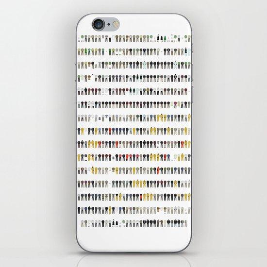 Walter White's Wardrobe - Complete Series iPhone & iPod Skin