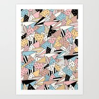 Art Print featuring PIZZA !! by Ana Depuntillas