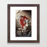 The Dentist Framed Art Print