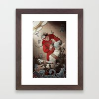 The Dentist Framed Art Print
