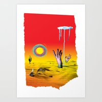 Drought Art Print