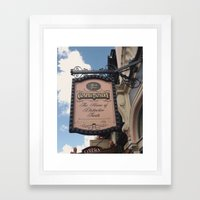 Confectionery Framed Art Print