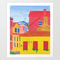 Cannaregio, Venice. (Rem… Art Print
