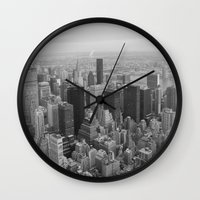 Empire State, New York Wall Clock