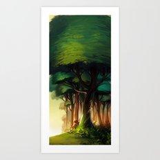 Rest Art Print