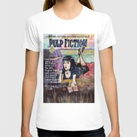 pulp fiction T-shirts featuring Pulp Fiction by Jessis Kunstpunkt.