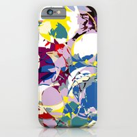 circle color fractures iPhone 6 Slim Case