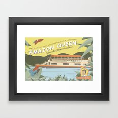 The Amazon Queen Framed Art Print