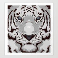 Tiger GW Art Print