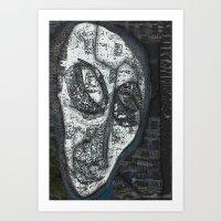 Fukushima Man Art Print