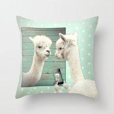 SELFIE Throw Pillow