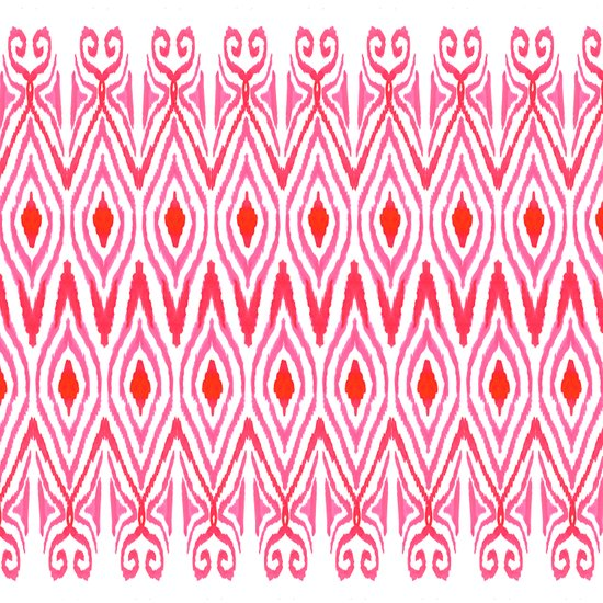Ikat Watermelon Art Print