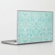 Laptop & iPad Skin featuring Detailed Floral Pattern … by Micklyn