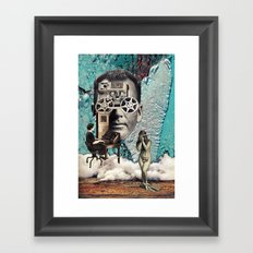 Person Of Interest Framed Art Print