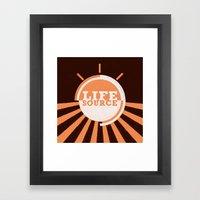 Life Source Framed Art Print