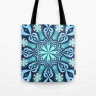 Decorative Winter Design… Tote Bag