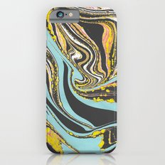 Wavy Marbling Slim Case iPhone 6s