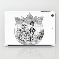 Floral Society Greeting iPad Case