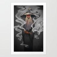 Stormcrow Art Print