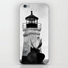 B&W Lighthouse iPhone & iPod Skin
