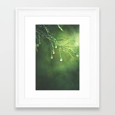 Relic of a Rainy Day Framed Art Print