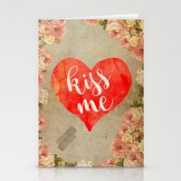Vintage Quotes Collection -- Kiss Me Stationery Cards