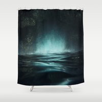Surreal Sea Shower Curtain