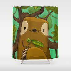 Sally the Sloth Shower Curtain