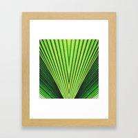 50 Shades of Green (2) Framed Art Print
