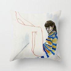 we might not have that long Throw Pillow