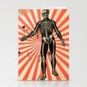 Dancing Skeletons Stationery Cards