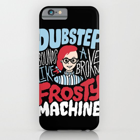 Frosty Dubstep iPhone & iPod Case