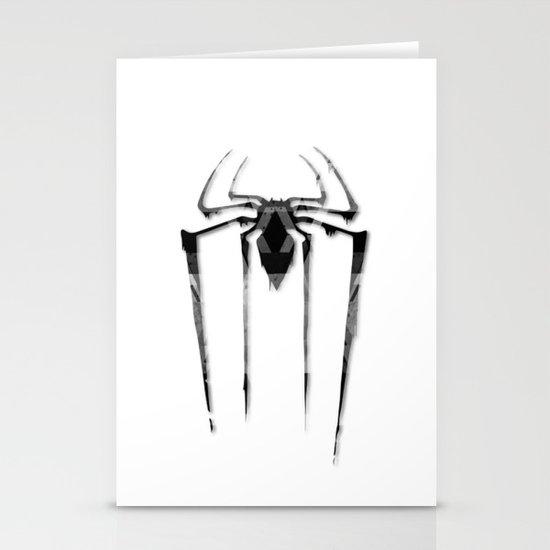 Amazing Spiderman B/W Stationery Card
